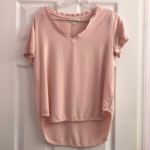 Cloth & Stone Anthropologie Pink Top Size S